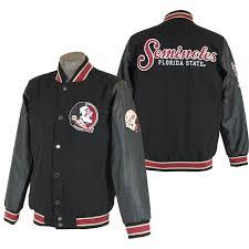 varsity jacket with seminole head