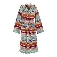 rufus terry bath robe with hood missoni home medium   ebay