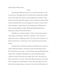 Narrative Essay Example College Narrative Essay Example College Students Examples And Forms