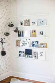Decorating: Wooden Diy Display Family Photos Wall - Photos Display