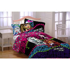 twin size bed forters monster high all ghouls allowed