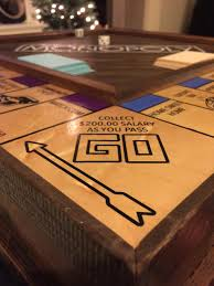 Wooden Monopoly Board Game This Monopoly board game proposal is one of the most creative 60