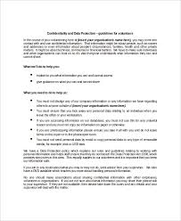 Client Protection Agreement Template 13 Data Confidentiality ...