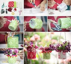 Decoration With Plastic Bottles How to DIY Pretty Outdoor Hanging Plastic Bottle Vases Fab Art DIY 57