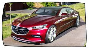 Opel Monza Four Door Coupe Would Make A Sweet Merc CLS Rival - YouTube