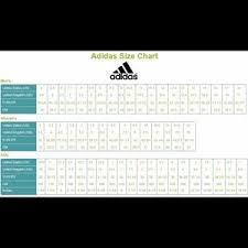 Adipower Size Chart We Love Adidas 3 Stripes Forever Size Charts