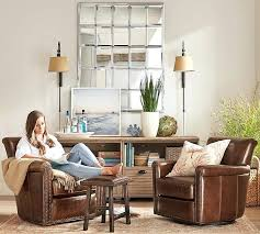 pottery barn leather chair arm chair for stunning leather swivel armchair with s pottery barn pottery pottery barn leather chair