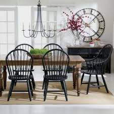 black windsor chairs. Love Black Windsor Chairs With Rustic Table! S