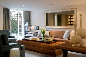 behind couch best 20 large round mirror ideas on hallway where work meets play old town