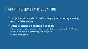 11 graphing quadratic