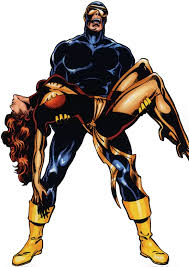 cyclops scott summers holding a dead phoenix jean grey
