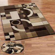 Living Room Rugs Modern Furniture Best Floors And Rugs Brown Square With Round Area Rug