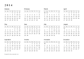 There are 13 different word calendar templates, from a yearly calendar 2014 on a single page (the whole year at a glance) to a quarterly calendar 2014 (3 months/1 quarter on one page). Free Printable Calendars And Planners For 2020 And Past Years