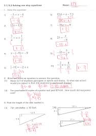 awesome collection of glencoe algebra 1 practice worksheet answers with 31 inspirational solving multi step equations