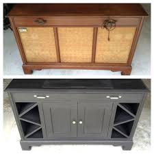 Small Bar Cabinet Furniture Old Record Player Cabinet Transformed