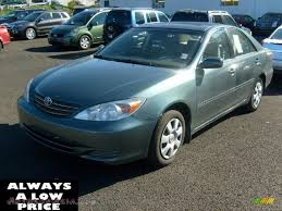 2004 Toyota Camry LE in Aspen Green Pearl - 289843 | Autos of Asia ...