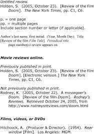 Citing Film Sources In Apa Format Pdf