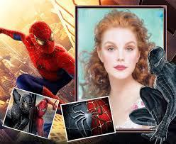 spider man photo frame