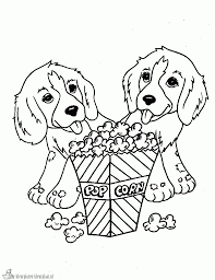 Kleurplaten Hond Kleurplaten Kleurplaatnl In Kleurplaat Van Een