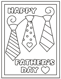 The printable card can be printed on card stock and colored in by your children to give to dad. Free Printable Father S Day Coloring Sheets A Cute Last Minute Idea It S In The C Father S Day Printable Fathers Day Coloring Page Happy Fathers Day Cards