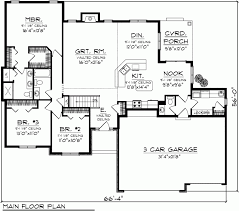 ranch floor plans under 2000 sq ft nice home zone