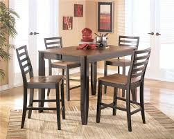 pub dining set with leaf. signature design by ashley alonzo counter height butterfly leaf table - knoxville wholesale furniture pub knoxville, tennessee dining set with t