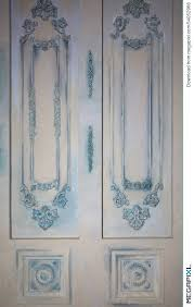 photo of decorative wall panels with various types of ornaments in the form of decorative frames