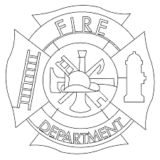 Small Picture Maltese Cross Fire Department Coloring Pages Batch Coloring