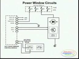 power window wiring diagram 2 youtube power window switch wiring schematic at S10 Power Window Wiring Diagram