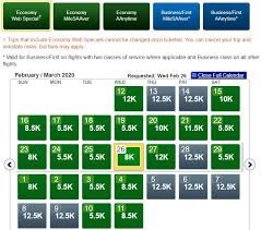 Bogo Buy A Premium Economy Flight Earn A Free Economy