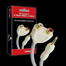 <b>Переходник AudioQuest</b> Splitter <b>FLX</b>-<b>Mini</b>/RCA Adaptor(Male ...