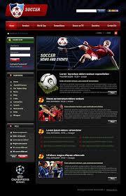 joomla football template. Soccer Joomla Template 808 professional website best creative