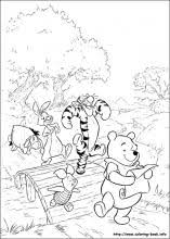 Winnie The Pooh Coloring Pages On
