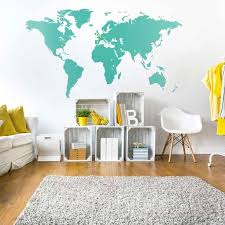 world map decor 78 best world map wall graphics images on