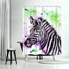 zebra shower curtain gray zebra shower curtain hot pink zebra shower curtain