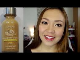loreal true match super blendable makeup first impression review alog