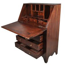 philadelphia solid wood drop front secretary desk