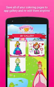 Princess Coloring Book App L