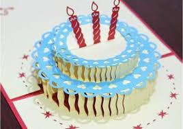 Diy 3d Birthday Cake Card Happy Birthday Cake 3d Pop Up Greeting