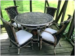 round patio table for 4 48 patio table glass replacement pictures ideas