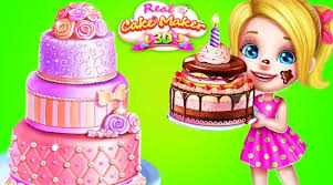 Fun Cooking Games Real Cake Maker 3d Fun Care Makeover Desing