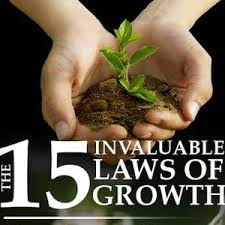 Image result for The 15 invaluable laws of growth