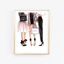 fashion ilration chanel art chanel