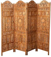 handcrafted wooden partition room divider  aarsun woods