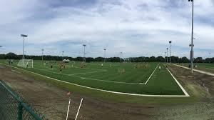 grass soccer field. Grass Soccer Field