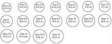 Ring Size Chart Buy Ring Size Chart Ring Size Chart Ring Size Chart Product On Alibaba Com