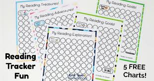 Book Reading Chart Free Reading Log Printable Charts That Your Kids Will Love