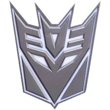Transformers - Decepticon Logo 3D Light