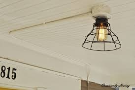 how to install a ceiling light fixture without existing wiring for ceiling lights without wiring