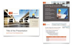 Design Presentation Templates Civil Engineers Powerpoint Presentation Powerpoint Template